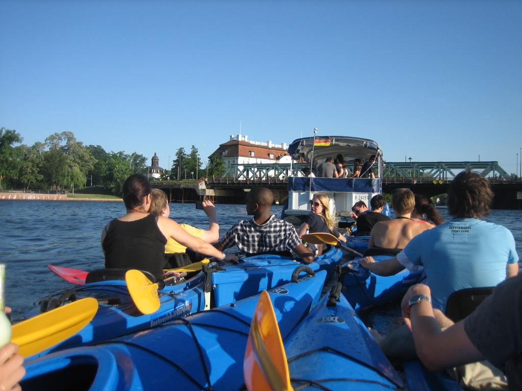 Kanu und Bootstour