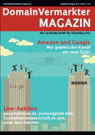 Domainvermarkter Magazin August 2012
