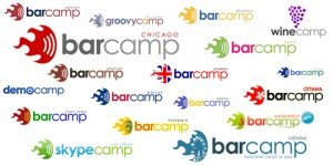 Swarm Barcamp Logos