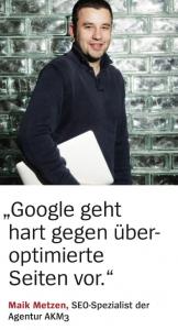 Spiegel Maik Metzen