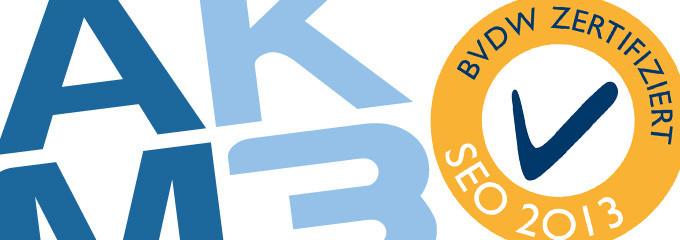 AKM3 erhält das BVDW SEO-Qualitätszertifikat 2013