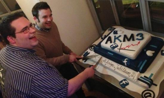 AKM3-Geburtstag-Torte
