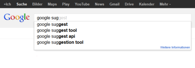 Google.Suggest