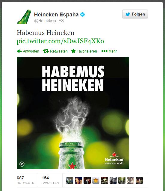Heineken Werbung