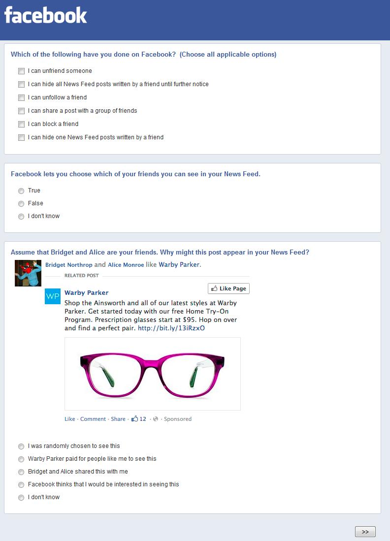Facebook-Stream-Werbung