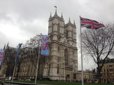 Gigantisch bei der SES London: Das Umfeld. Die Location liegt mitten zwischen den touristischen Highlights