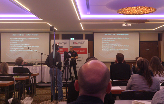 SEAcamp Thomas Grübel Makros