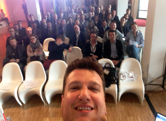 Zanox Andre Alpar Speaker Selfie