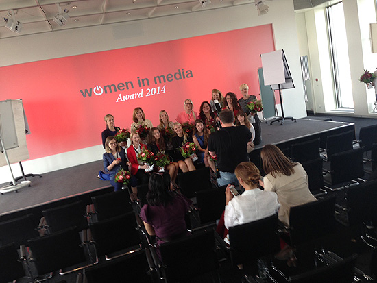 Women in Media Verleihung