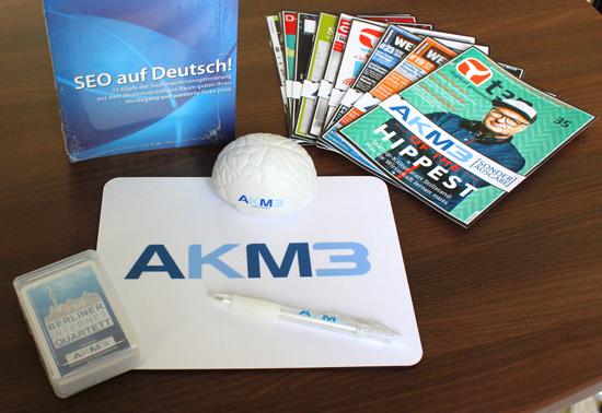 AKM3 Merchandising Paket