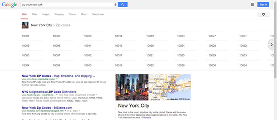New York Zip Code Search