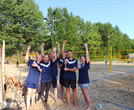 Online Marketing beach Volleyball Pokal