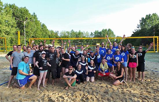 Online Marketing Beachvolleyball Teams