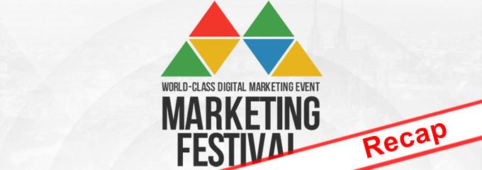 Marketing Festival Recap