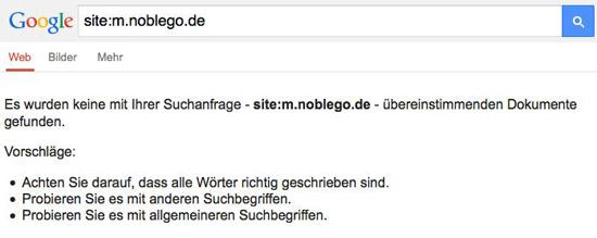 Noblego Siteabfrage