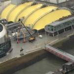 Stage Theater aus der Luft fotografiert