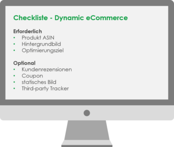 Checkliste Dynamic eCommerce
