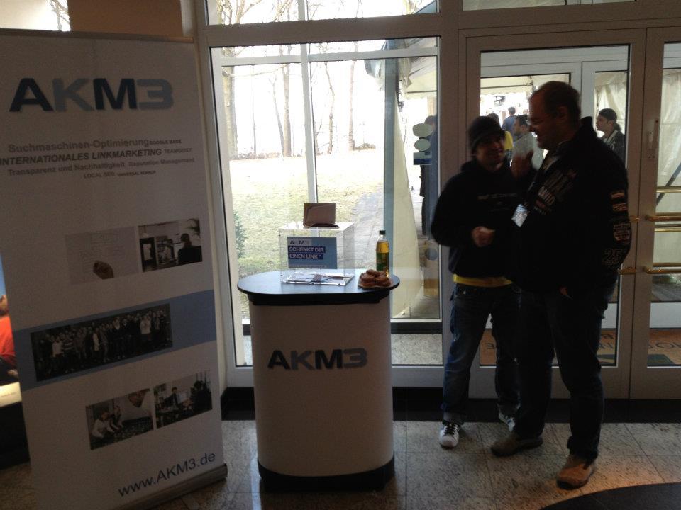 AKM3 Stand auf der SEO Campixx 2012