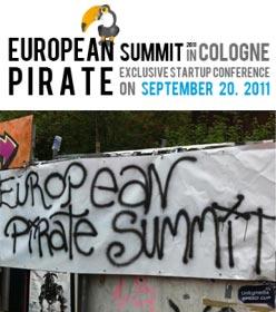 European Pirate Summit Startup Conference in Köln