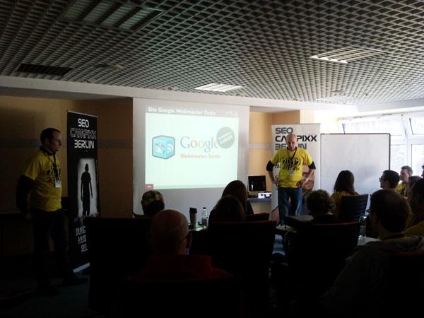 Google Webmaster Tools SEO Campixx 2012