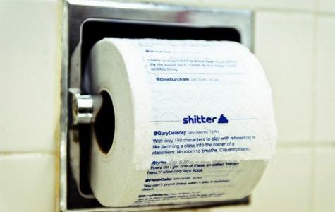Shitter Twitter Toilettenrolle